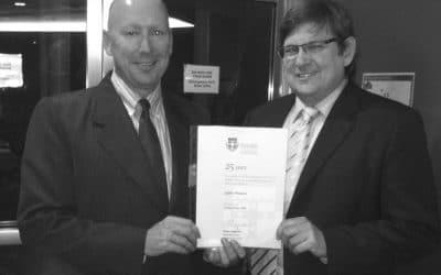 Justin Rickard, Australian Immigration Lawyer, Receives Award