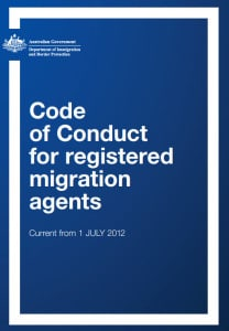 Code of Conduct for Registered Migration Agents